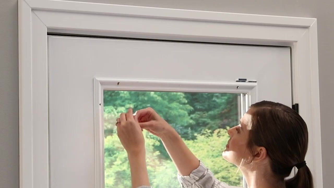 How to Install ODL Add On Blinds on Raised Frame Doors