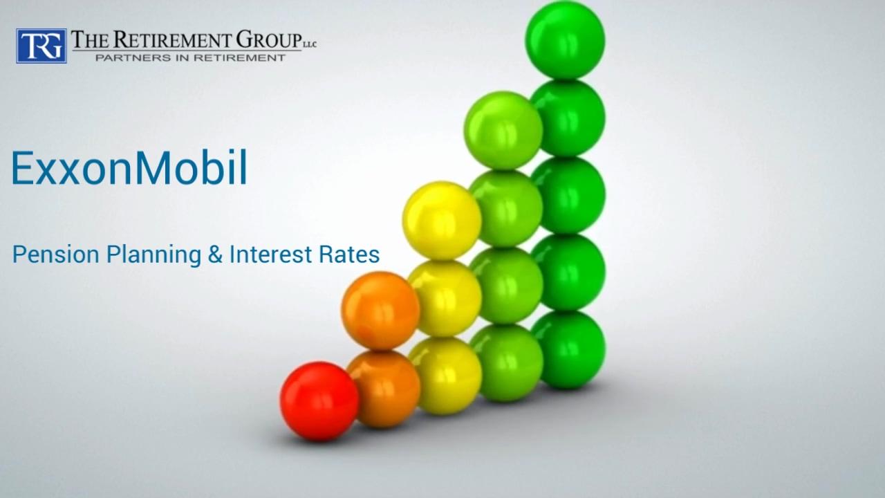 ExxonMobil - Pension Planning & Interest Rates - Wesley Boudreaux - 9_2_21