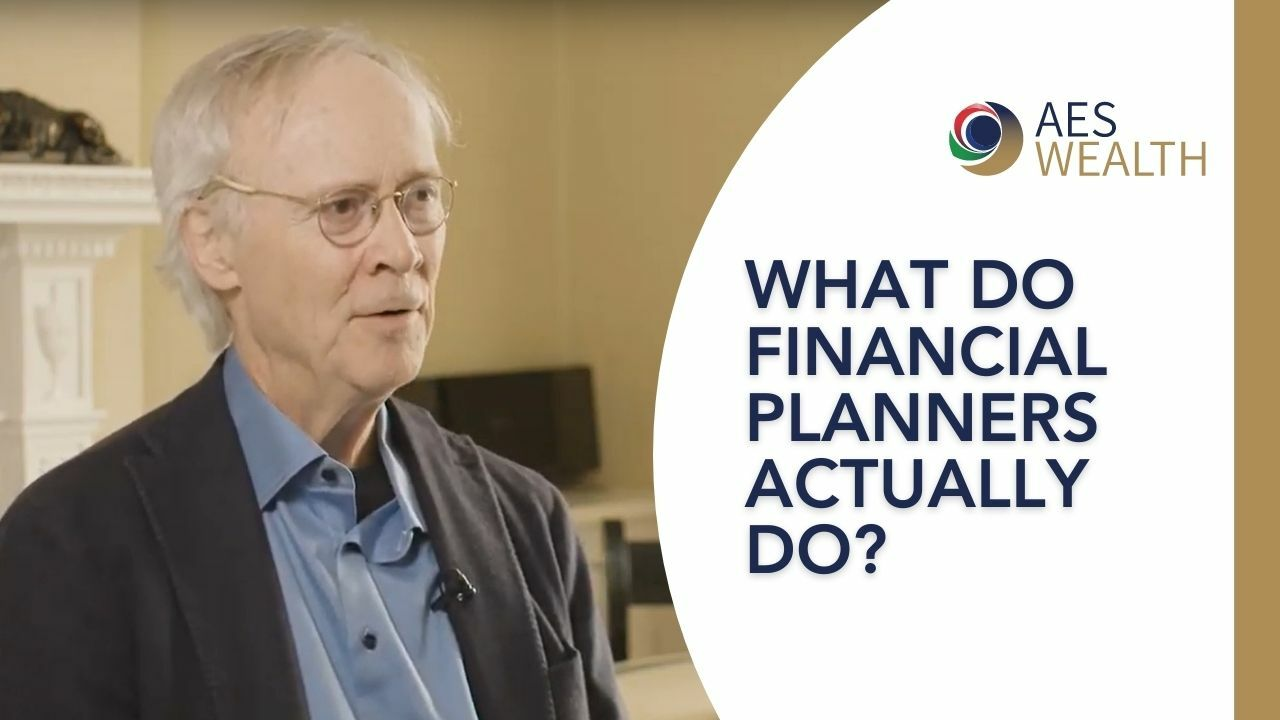 Adviser Vlog 104 Financial Planners Dont Just Advise You On Investments Aes