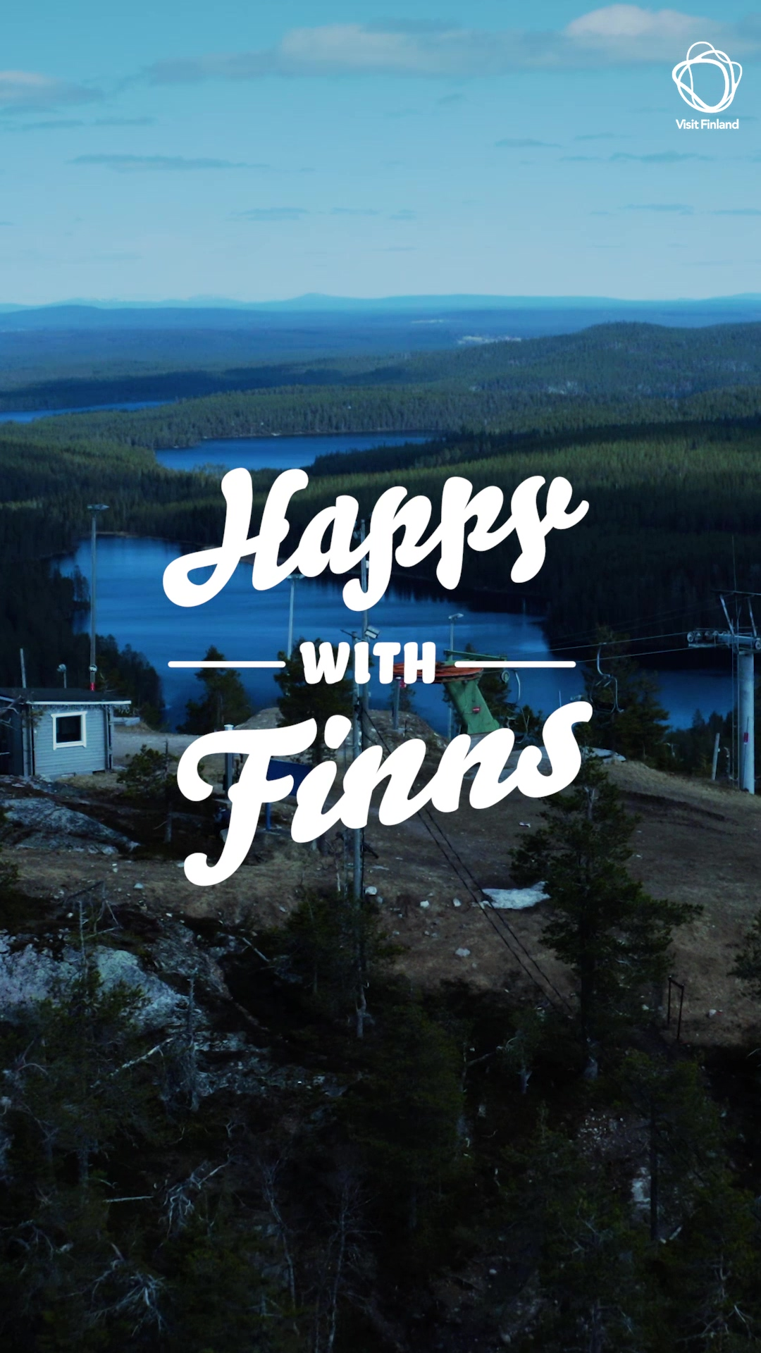 Happy with Finns