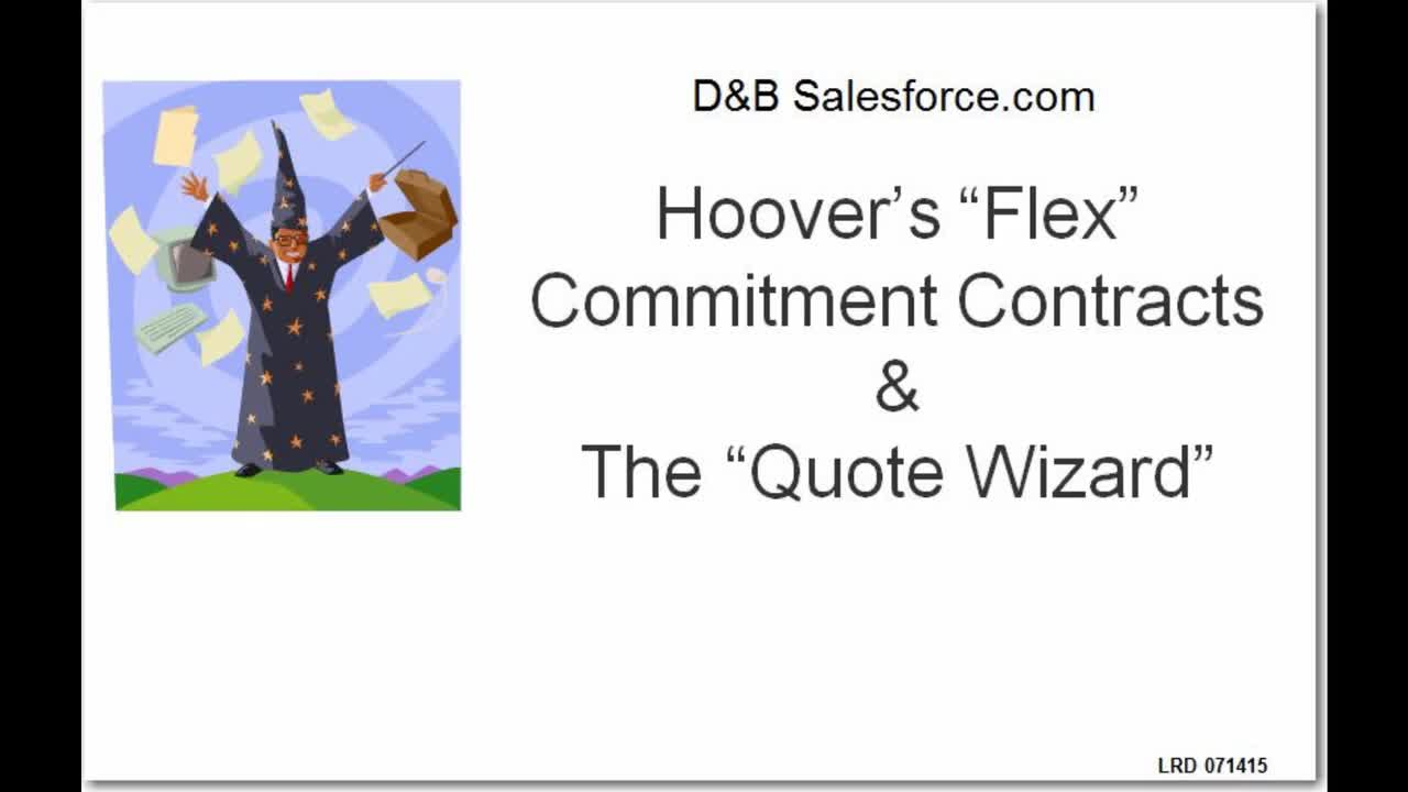 IIG 8169 - HoovFlex and Quote Wizard 071415_v1