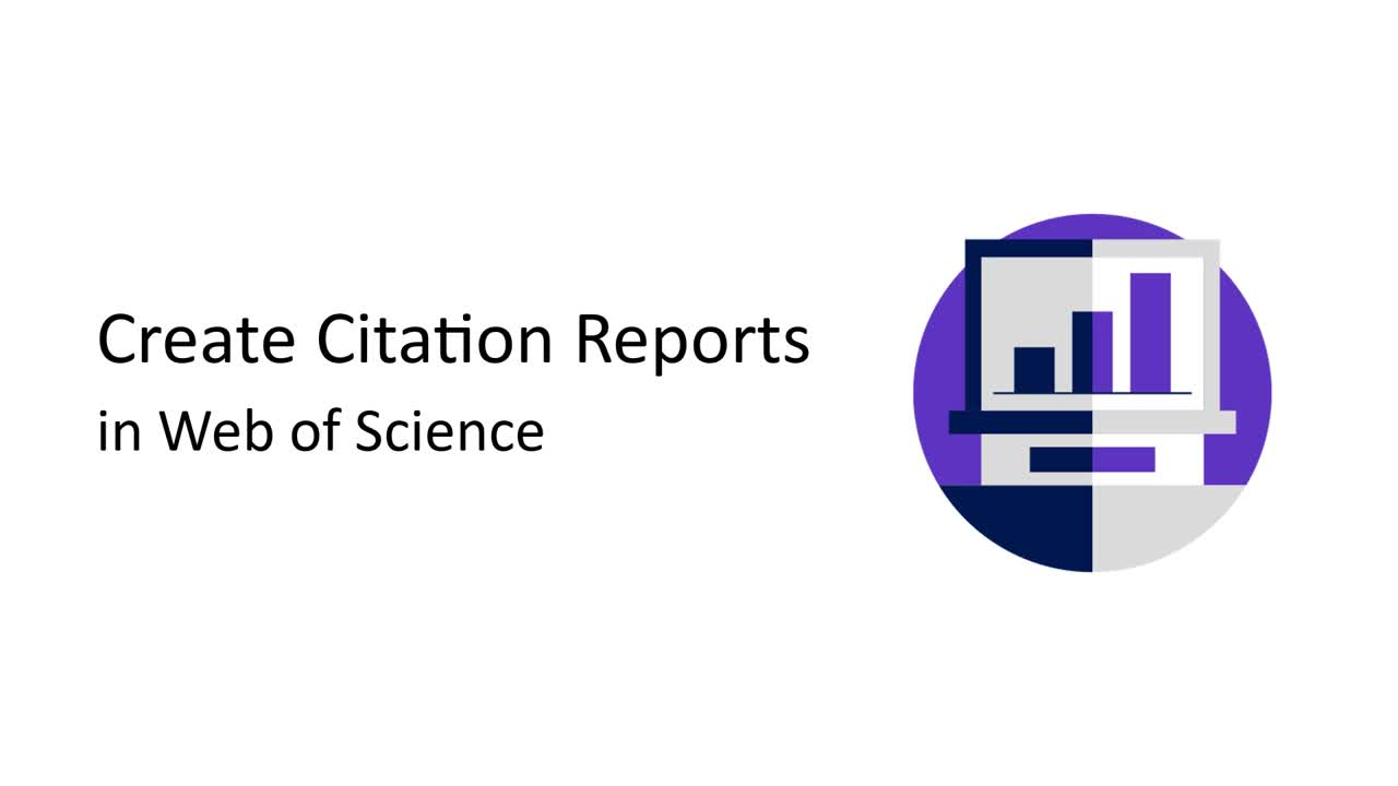 Web of Science Citation Reports