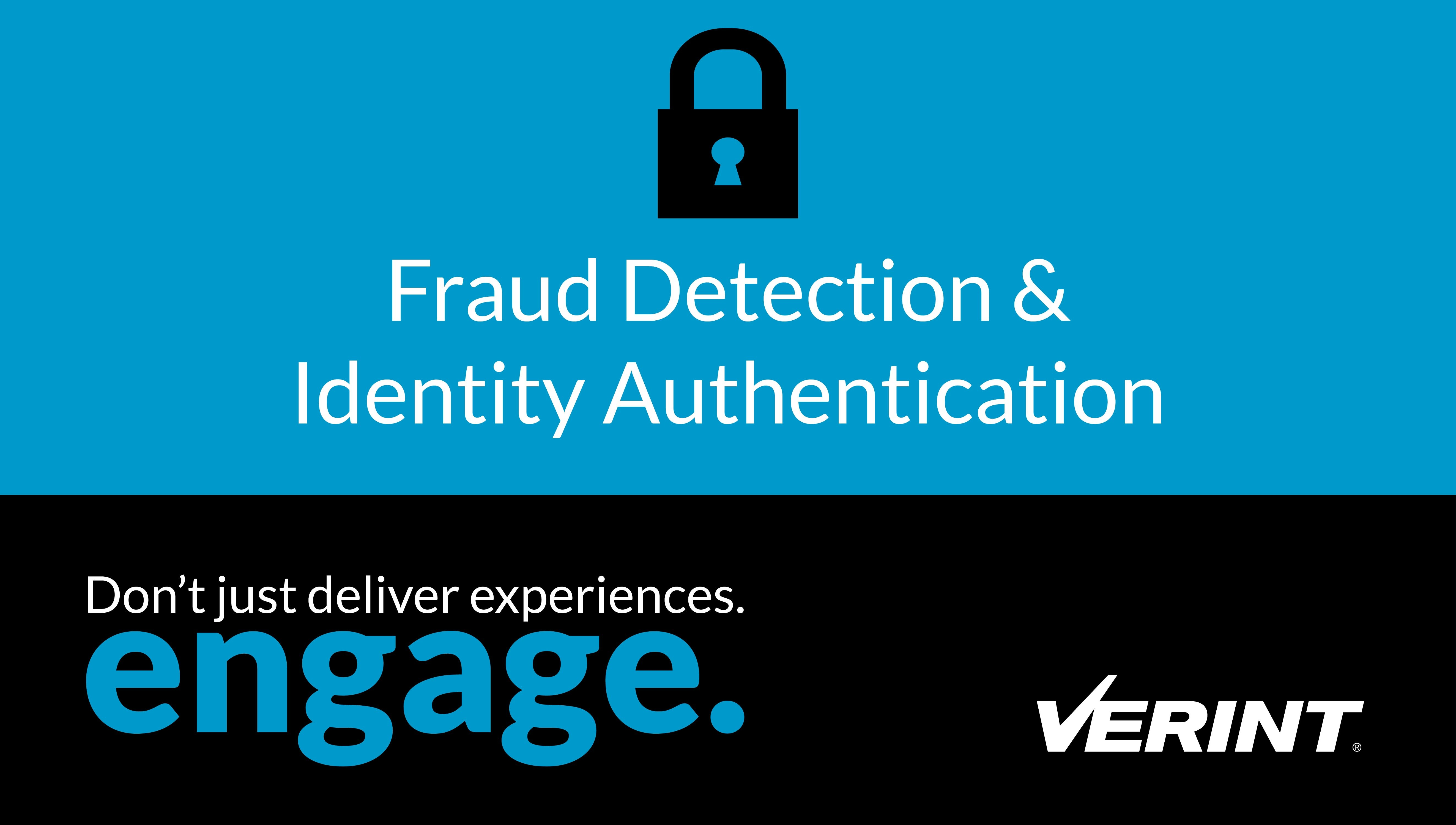Verint Fraud Detection