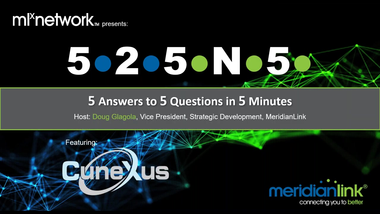 MLX Network presents 525N5 with CuneXus