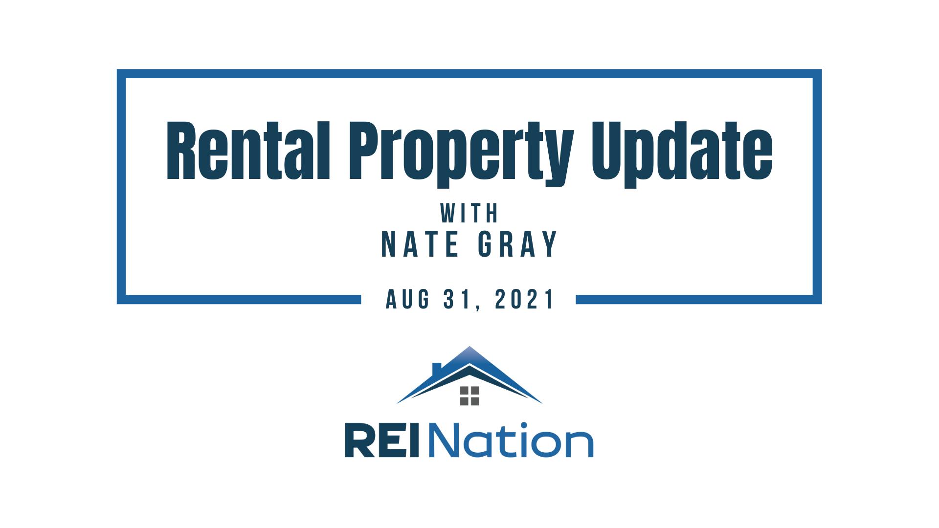 Rental Updates AUG 31 21