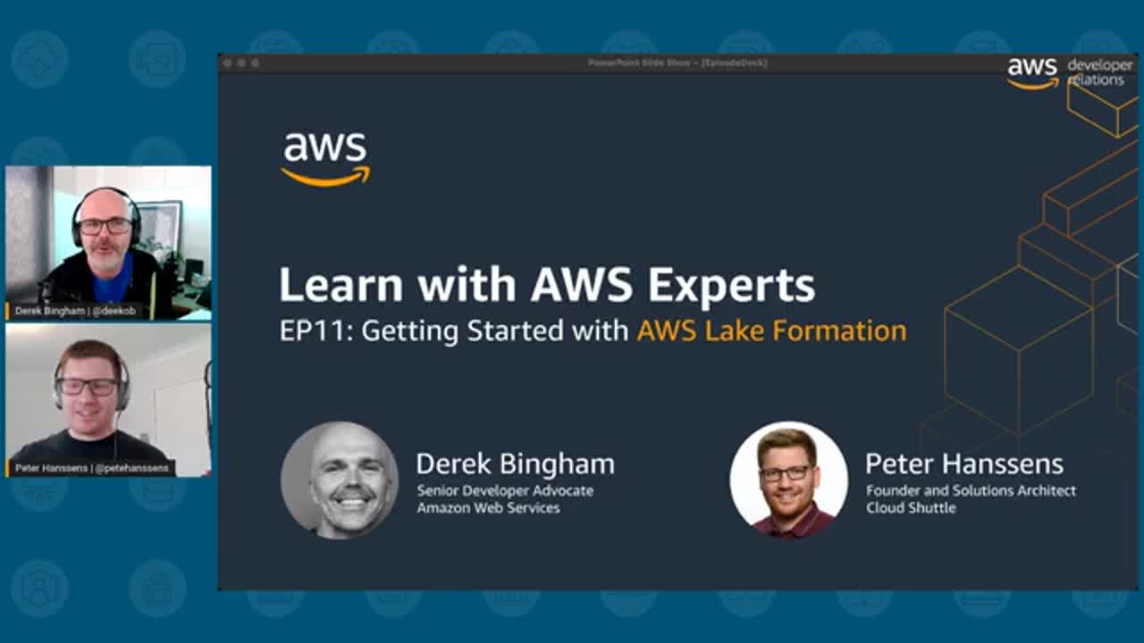 Learn with AWS Experts EP 11: Getting Started with Lake Formation