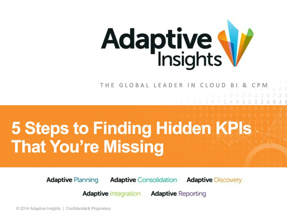 Screenshot for 5 Steps to Finding Hidden KPIs You're Missing