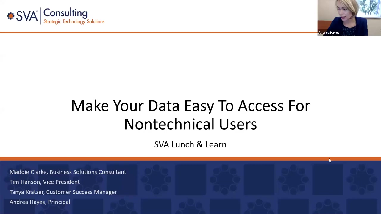 Webinar_ Make Your Data Easy to Access for Non-Technical Users - September 15, 2021