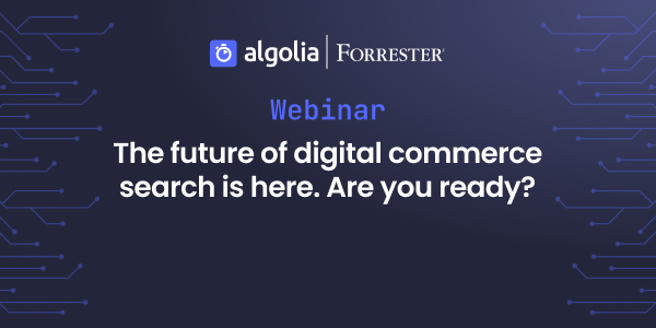 """illustration for: 'The future of digital commerce, feat. Forrester - Sept 2021'"""""""