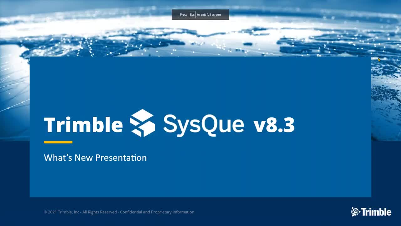 [Webinar Recording] What's New in the SysQue v8.3 Release