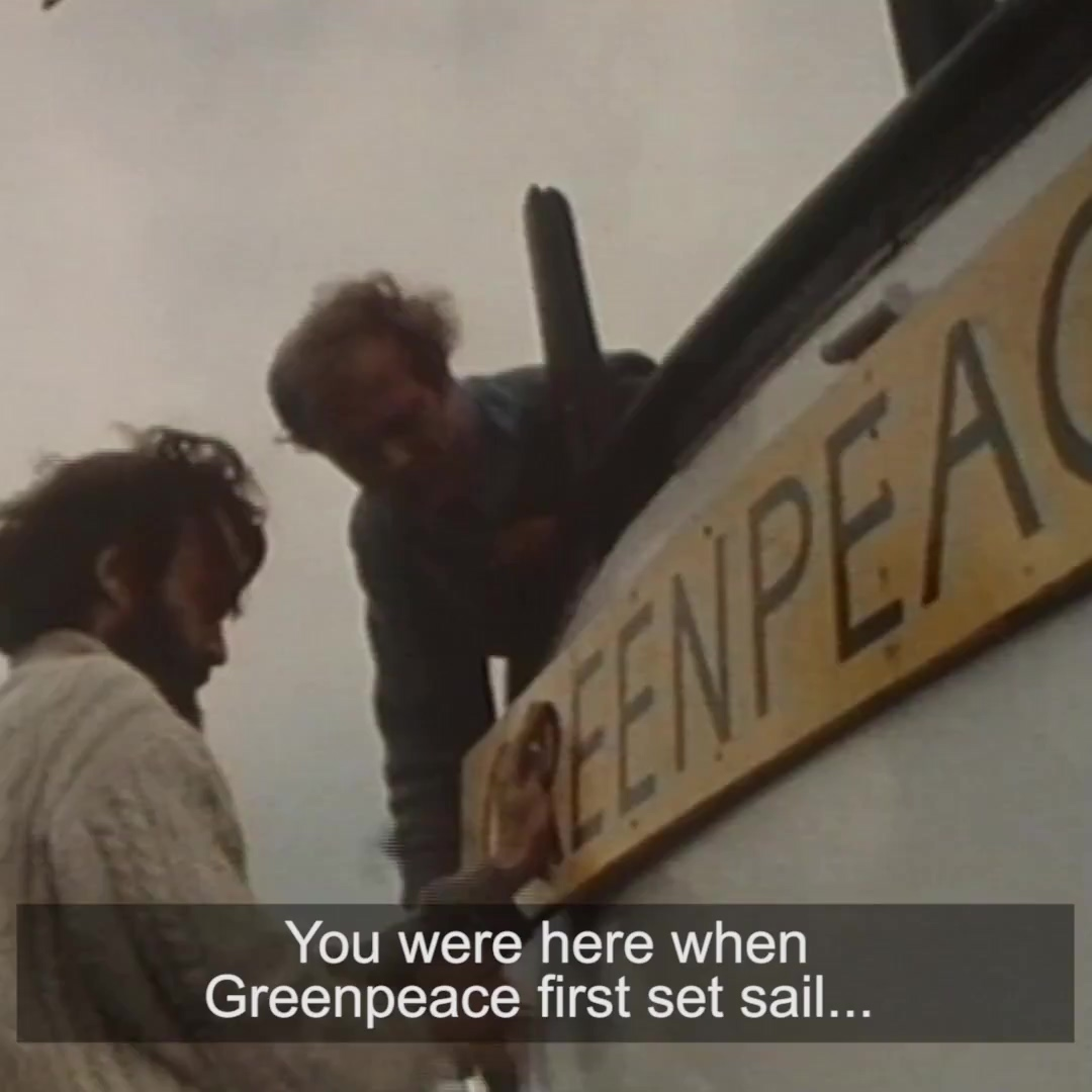 Leave a gift to Greenpeace in your Will