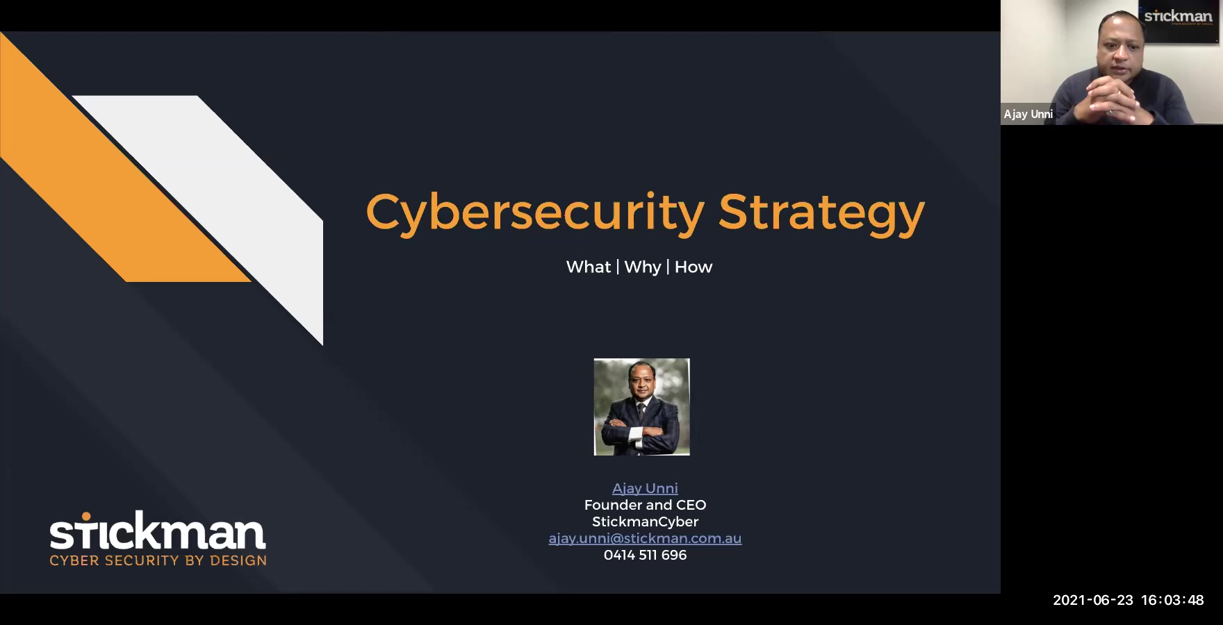 SMCW11 | Cybersecurity Strategy for your Organisation