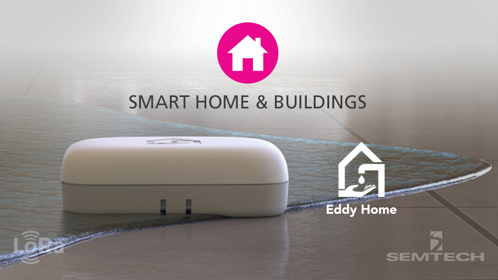 Semtech LoRa® Use Case: Eddy Home Water Management