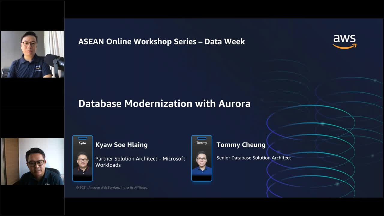 Database modernization with Amazon Aurora