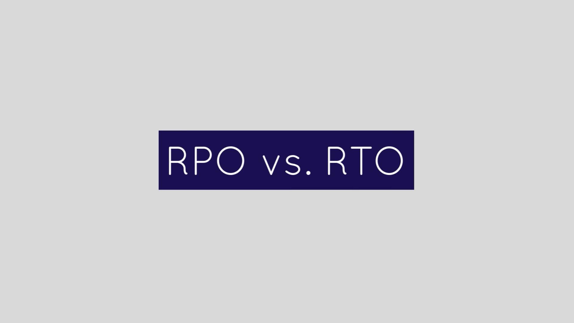 RPO vs RTO (new brand)