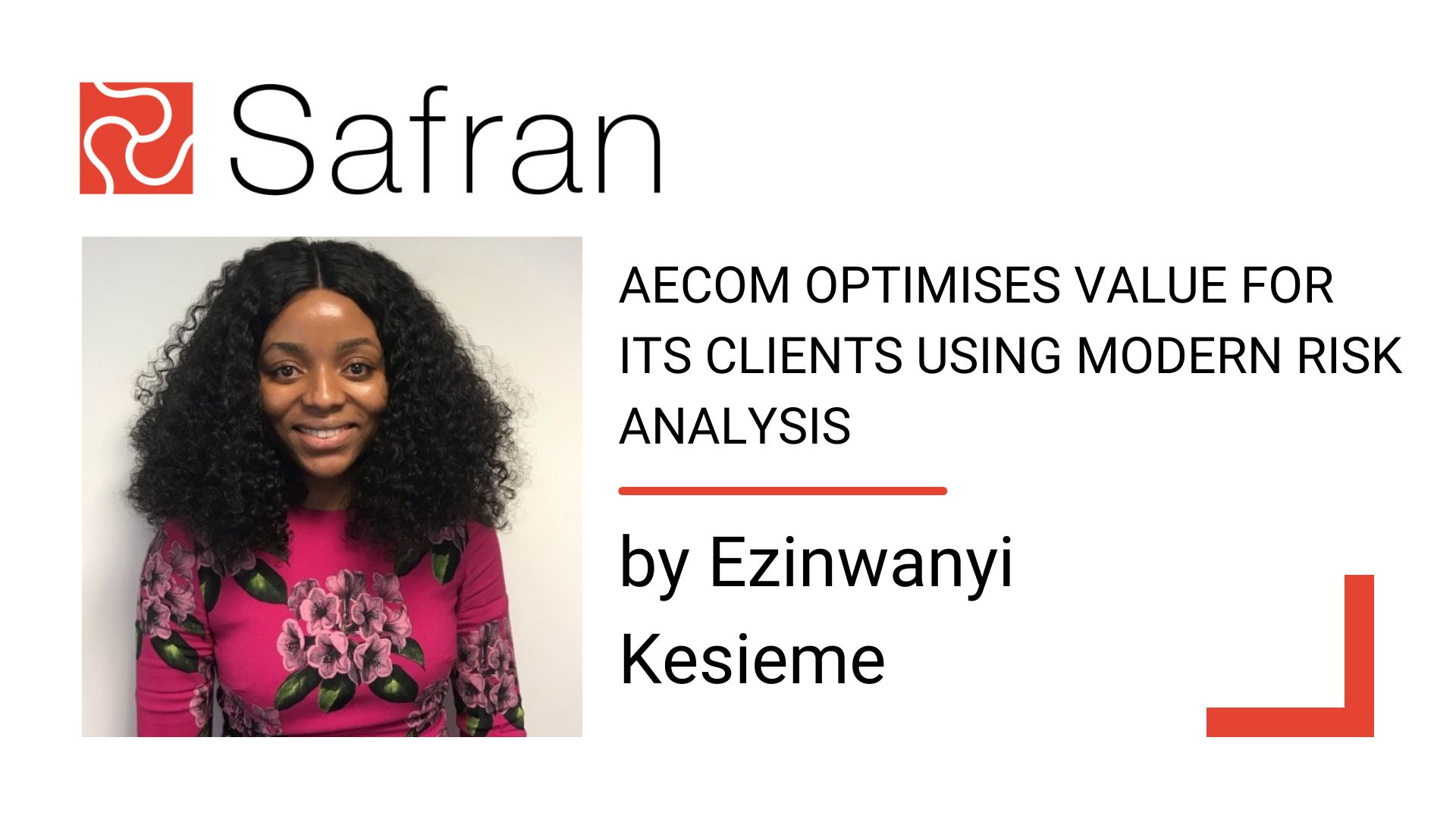 EK - value for its clients using Modern Risk Analysis 1