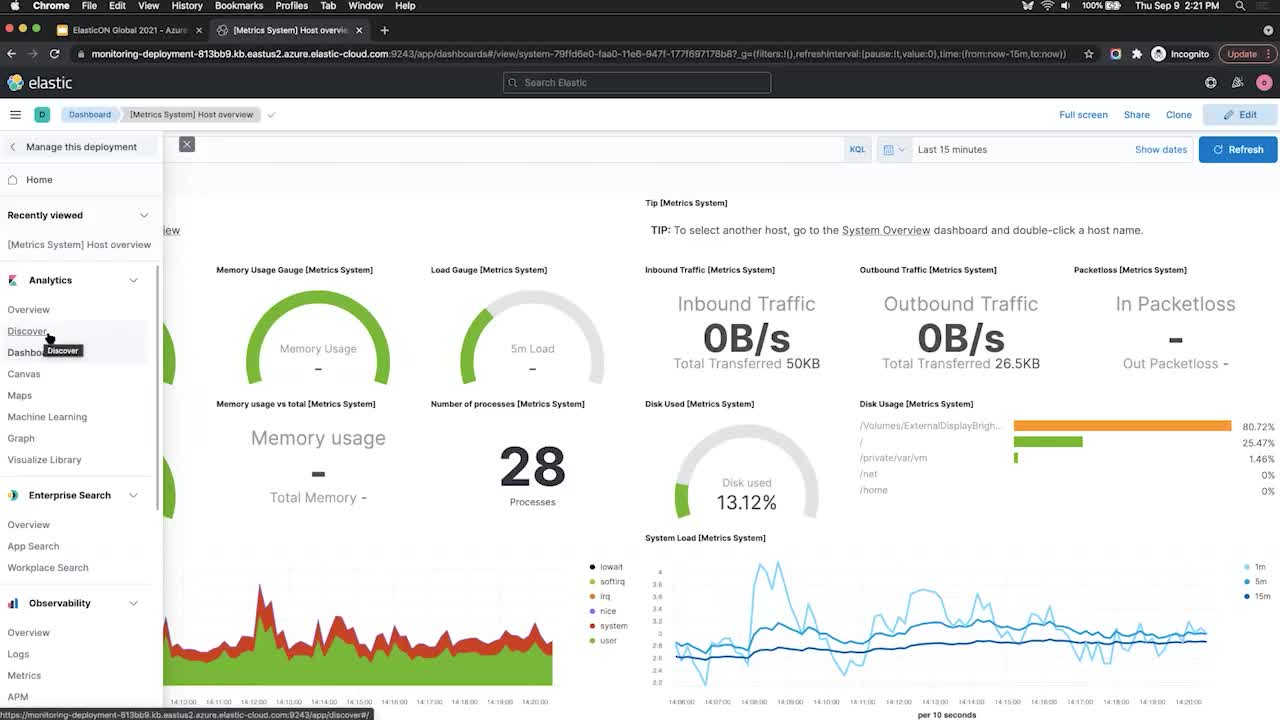 Video for From zero to ingest - get started with Elastic Cloud in just a few clicks