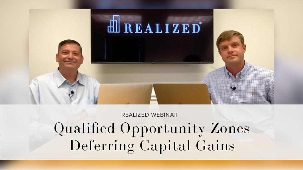 QOZ Deferring Capital Gains [w]