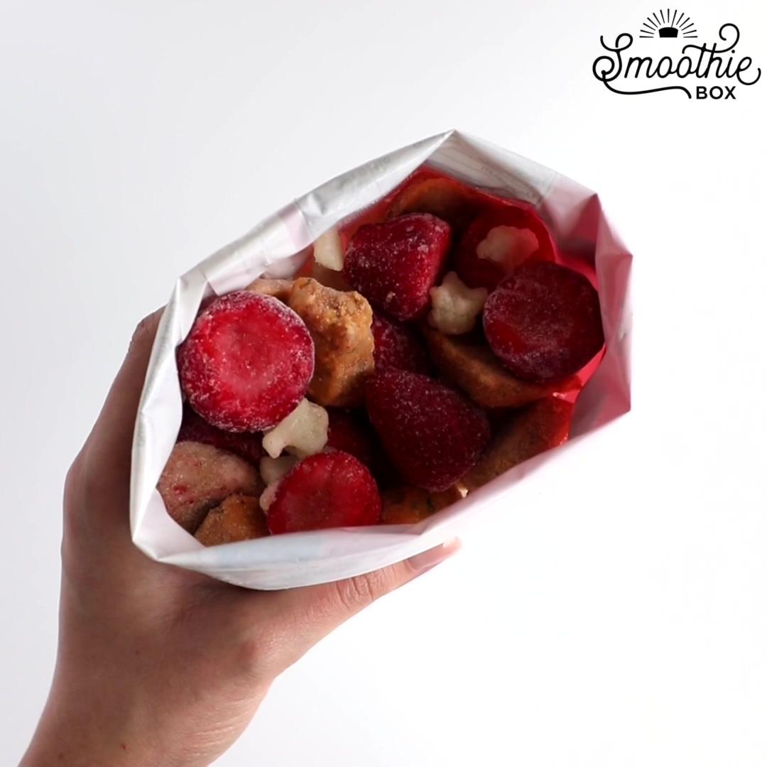 Strawberry Banana Smoothie-1
