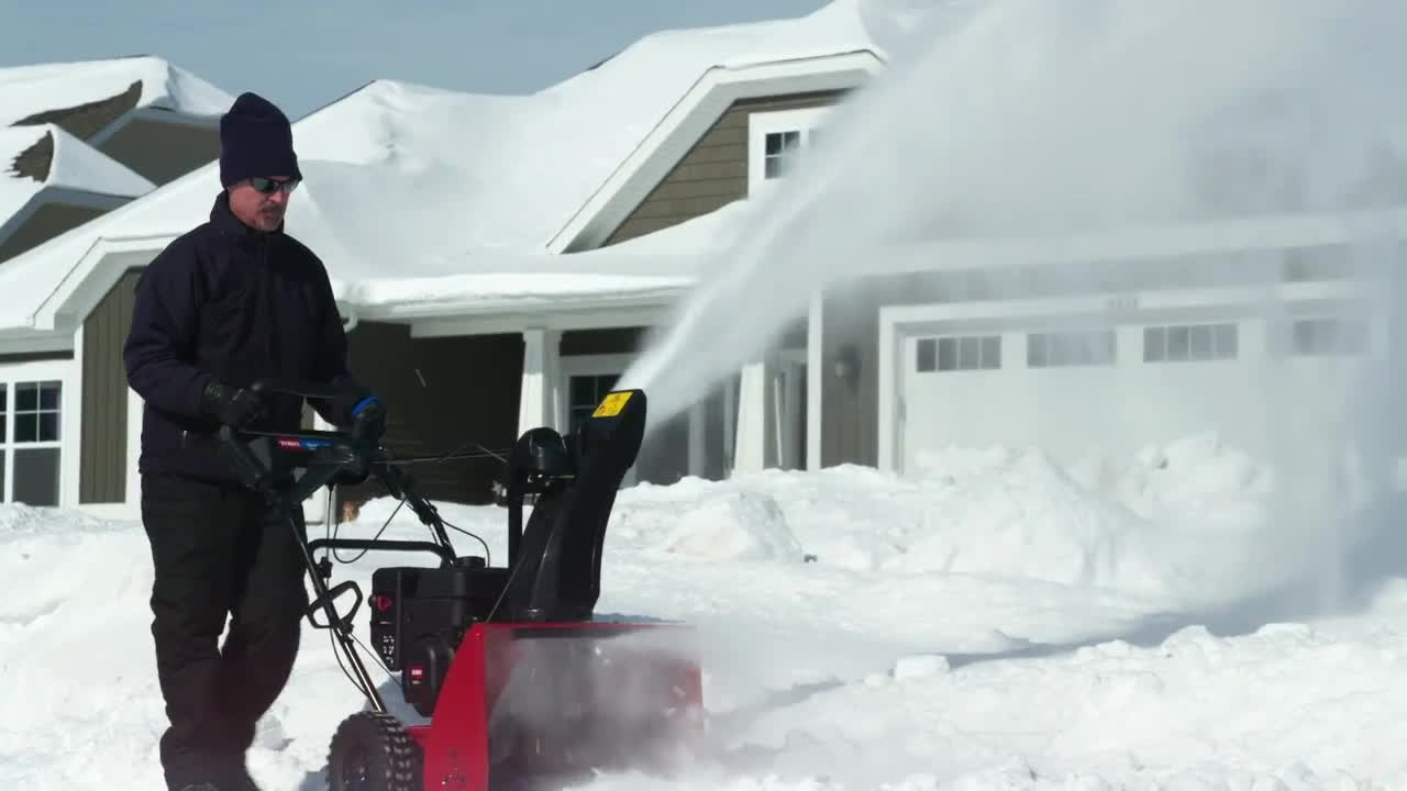 Snow Has Met It's Match - New Toro Snowblower