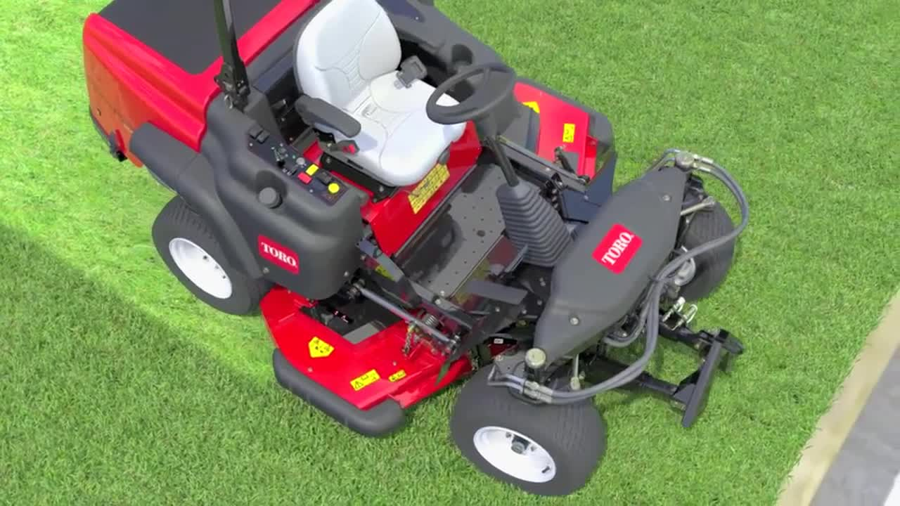 Toro® Groundsmaster® 360 Quad-Steer™