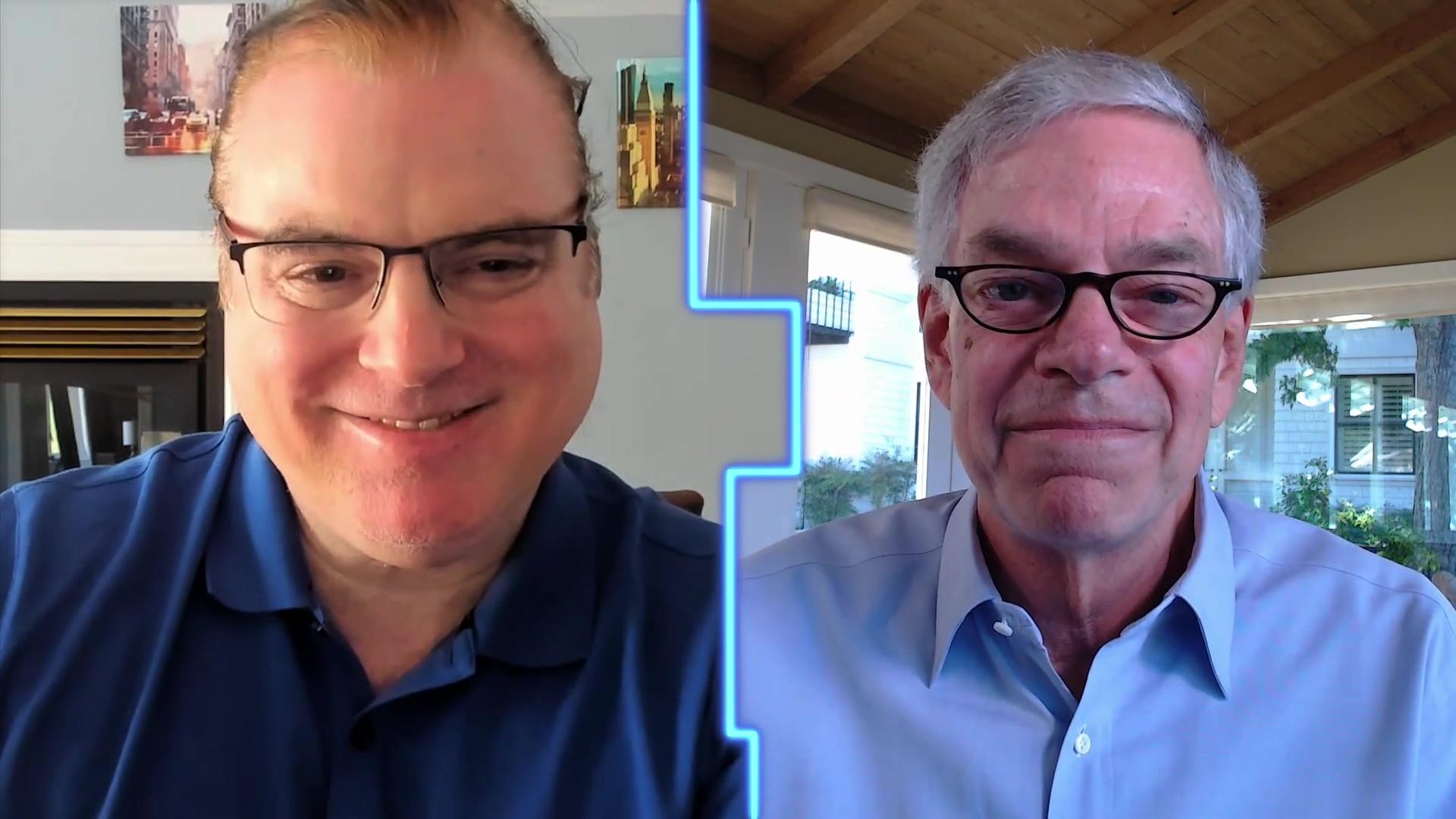 DPW2021 Joel Hyatt and Phil Fersht Fireside Chat