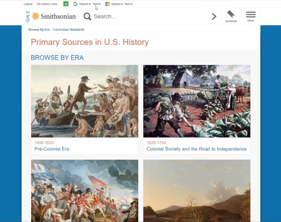 Smithsonian Primary Sources in U.S. History Webinar Thumbnail