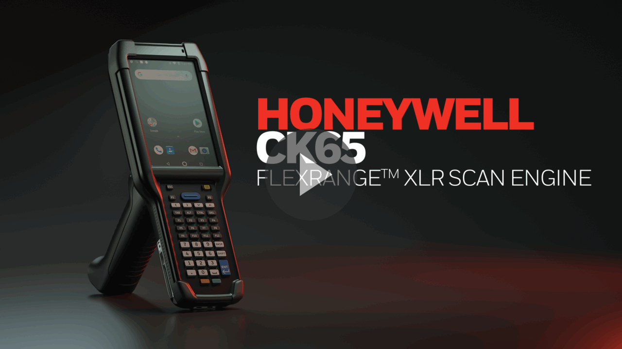 CK65 Ultra Rugged Mobile Computer with FlexRange™ XLR imaging