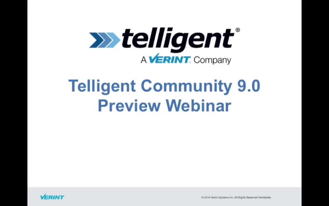 Telligent Community 9.0 Preview