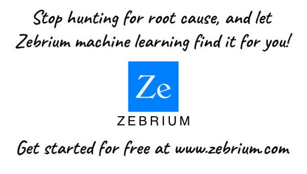 60 second Zebrium explainer video