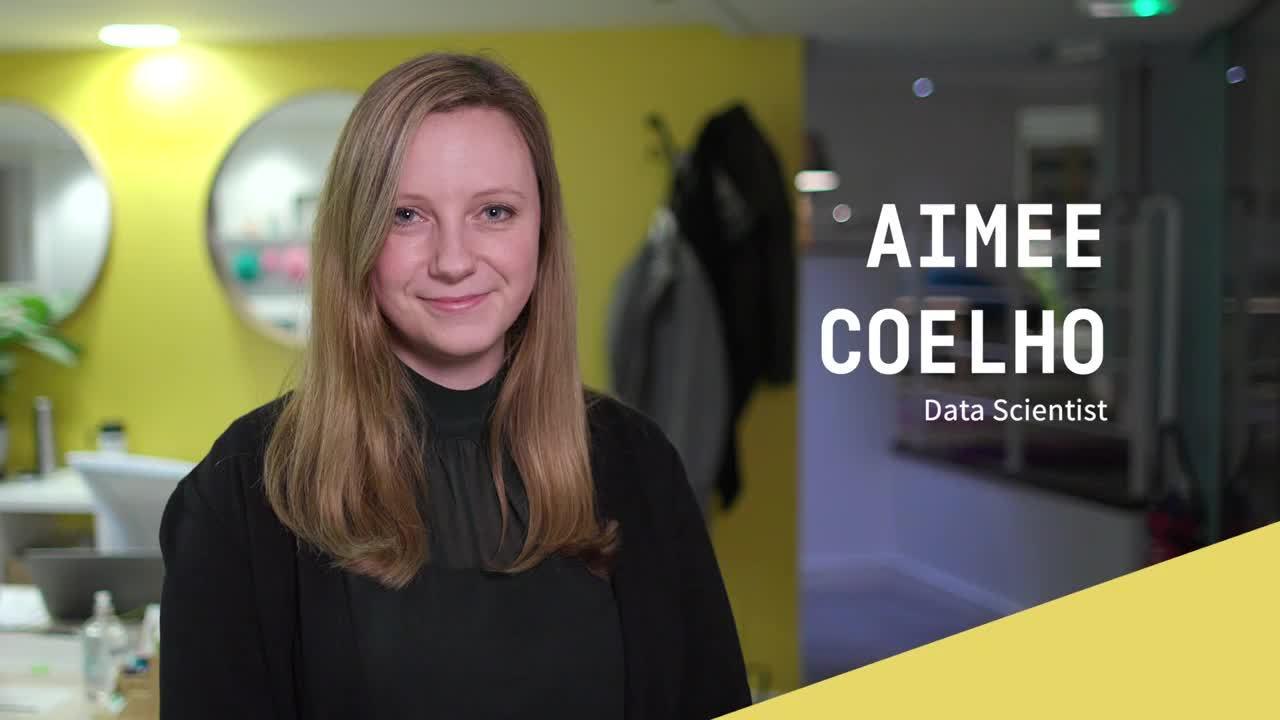 Aimee Coelho Data Scientist