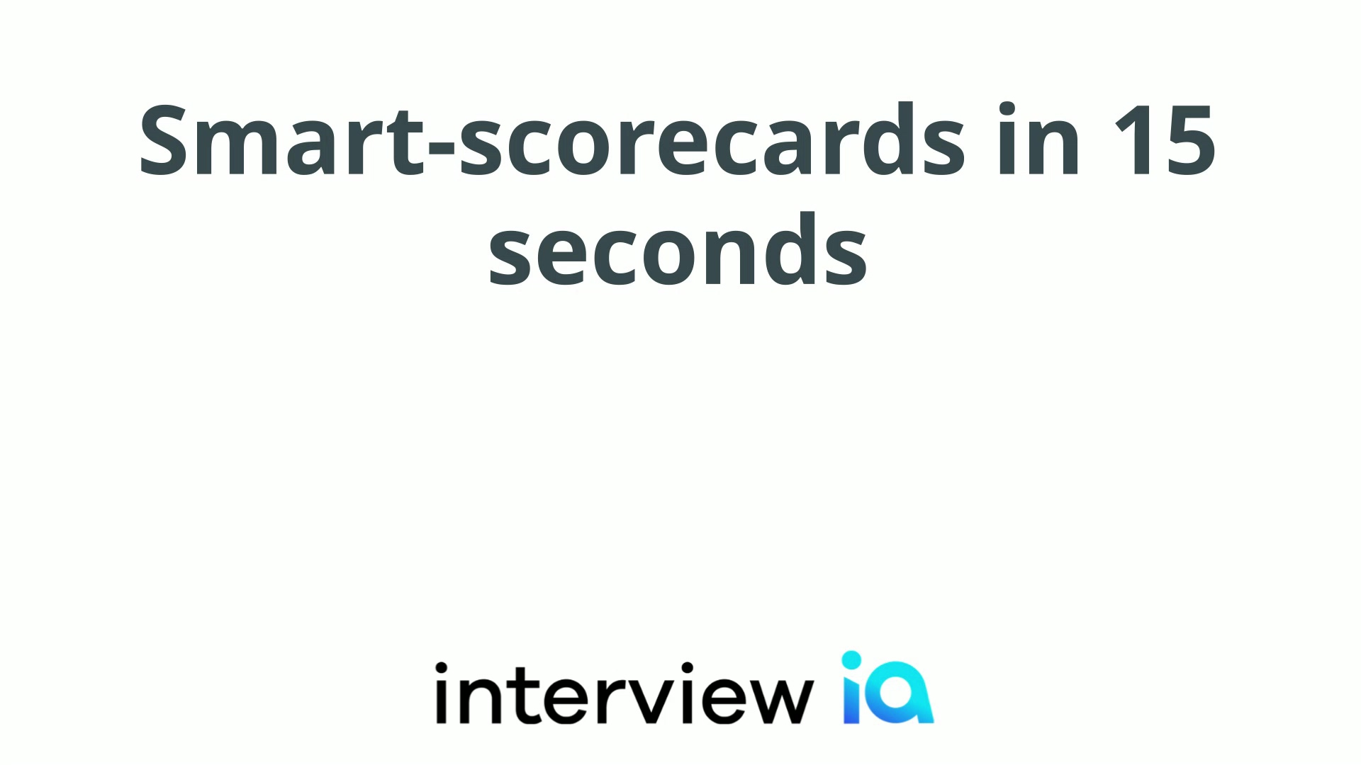 Smart-scorecard Demo