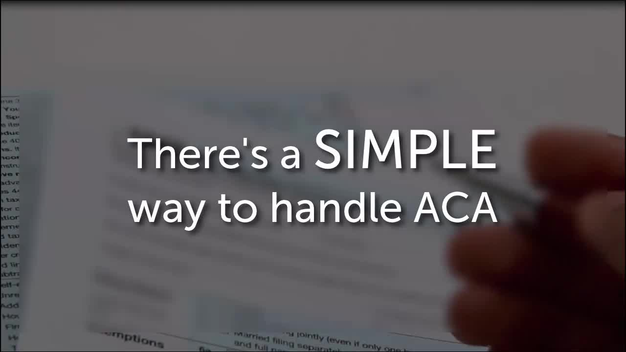 APS ACA Reporting Solution Video