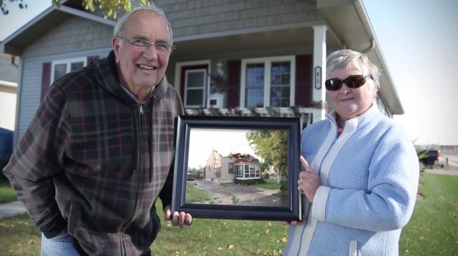 Autant en emporte le vent : comment nous avons aidé Wayne et sa femme après la tornade de Goderich