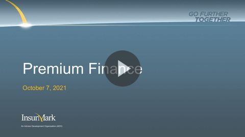 thumbnail for player Premium Finance - Back to the Basics
