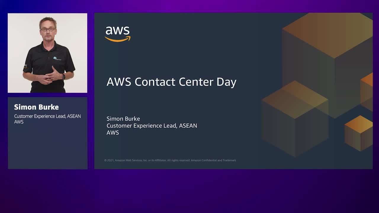AWS Contact Centre Day 2021 opening - Simon Burke