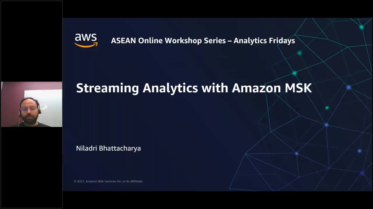 Building streaming applications using Amazon Managed Streaming for Apache Kafka (Amazon MSK)