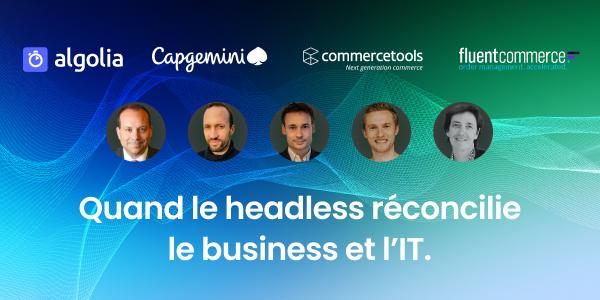 """illustration for: 'Quand le Headless réconcilie le Business et l'IT'"""""""