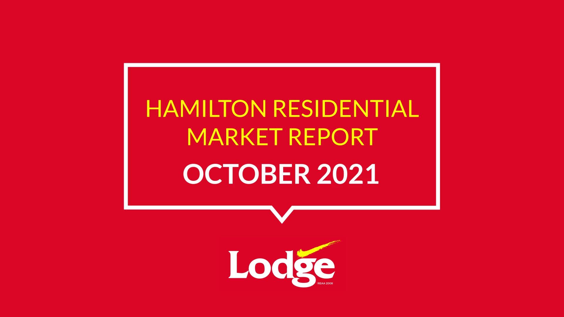 Hamilton Residential Market Report September
