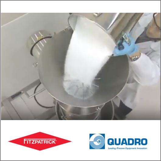 Quadro FlexSift - Industrial powder security screening