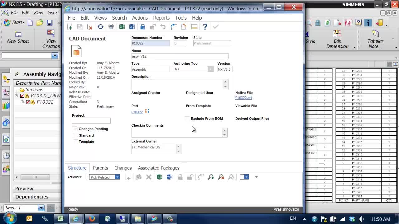 Cad Integration Aras Enterprise Plm Software Electrical Drawing Using Leverage All Your Data