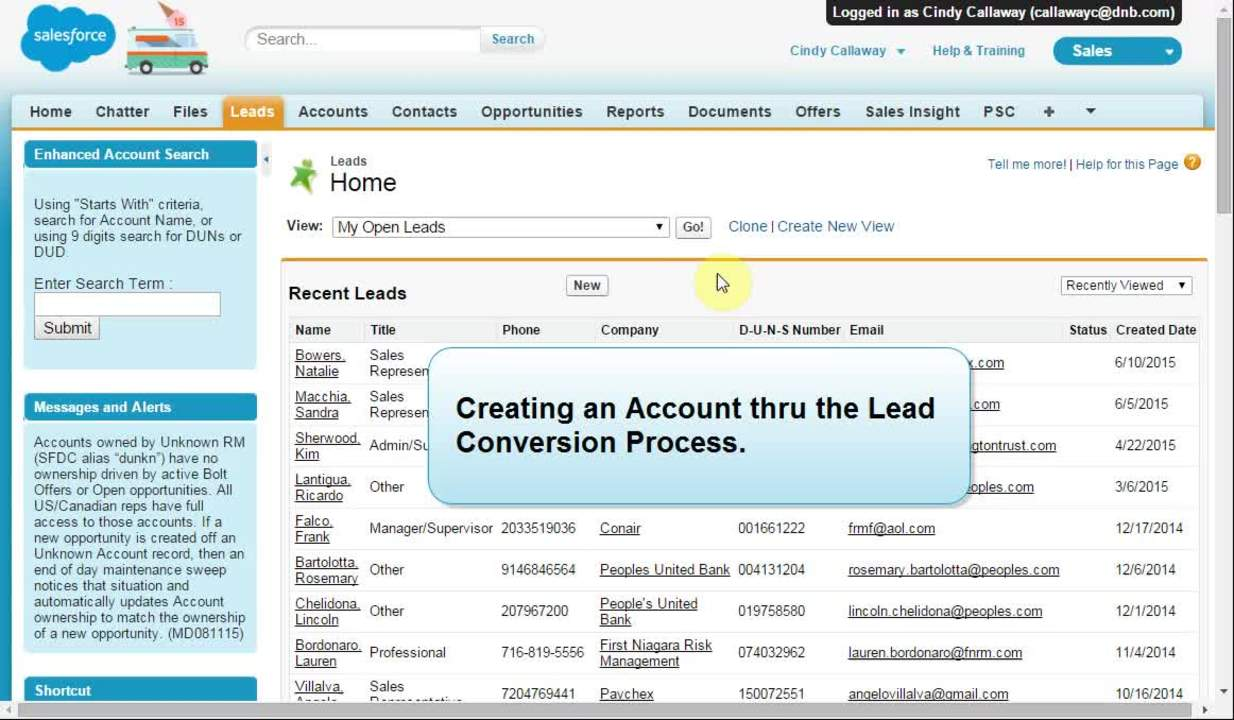 IIG 8196  - Account Creation - Best Practice from Lead Convert_v3