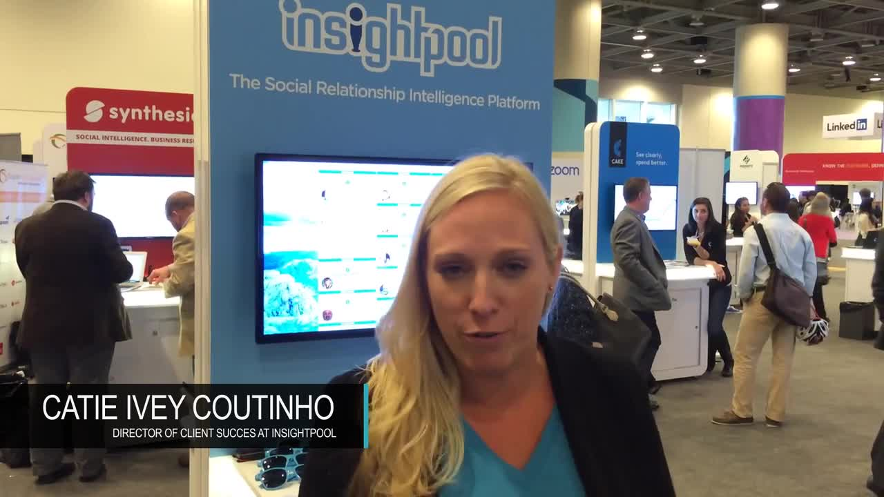 Customer: Testimonial Catie, Insightpool