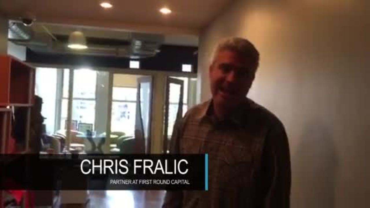 Customer: Testimonial Chris, FirstRound