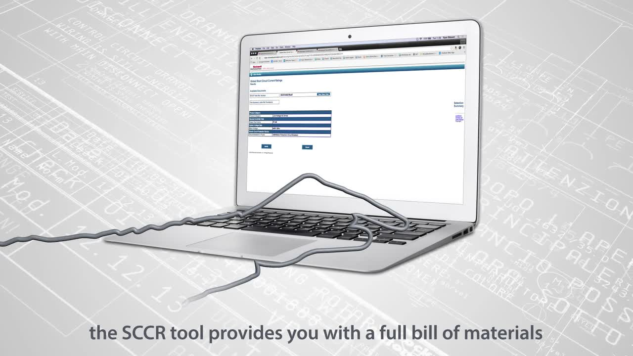 Global SCCR Overview: The SCCR tool provides you with a full bill of materials
