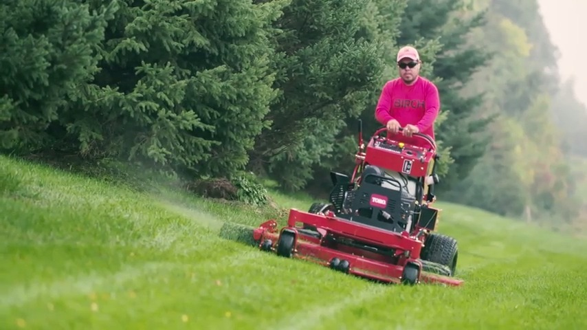 New Toro GrandStand Stand-On Mowers