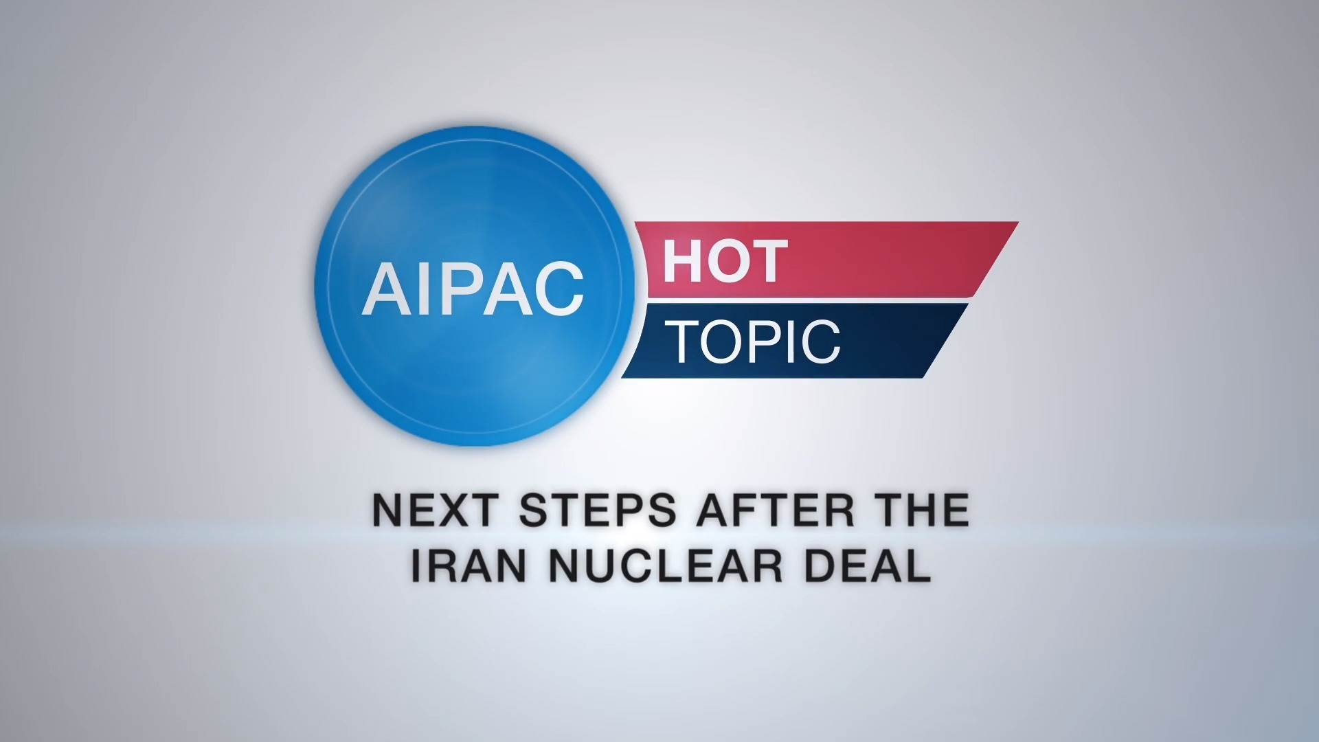 Hot Topic - Next Steps after the Iran Nuclear Deal