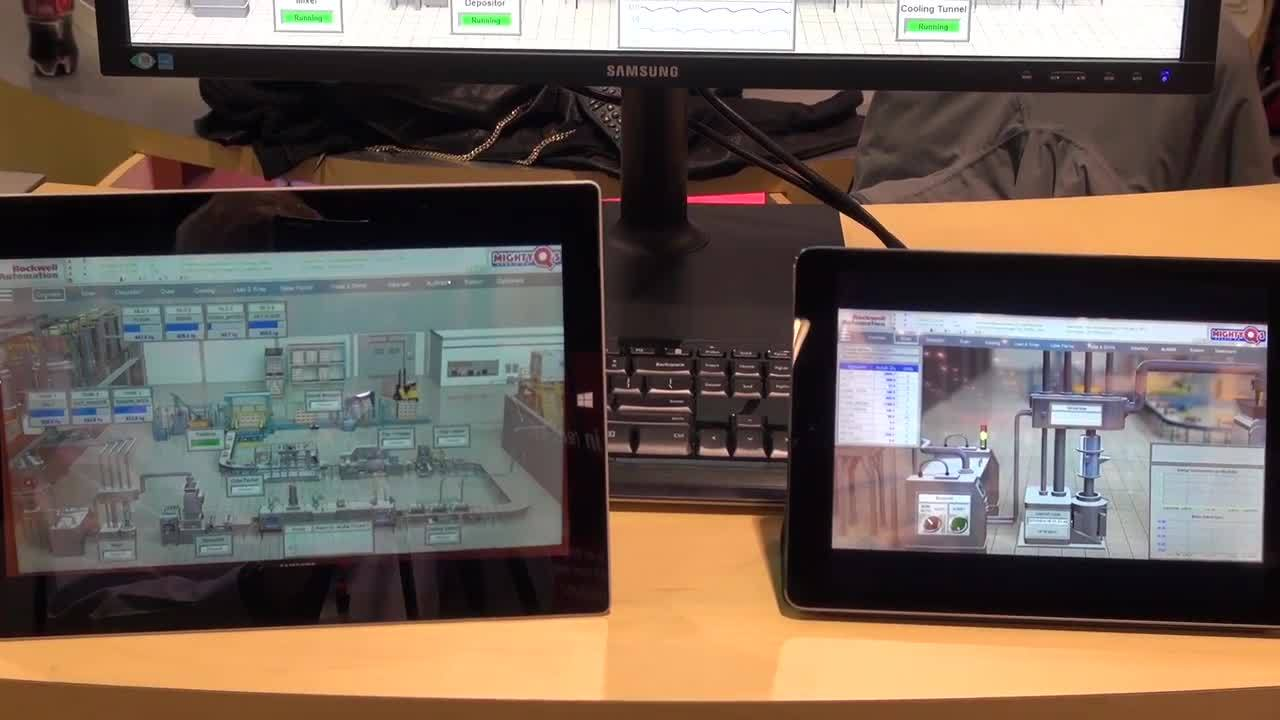 Mobile HMI with FactoryTalk View
