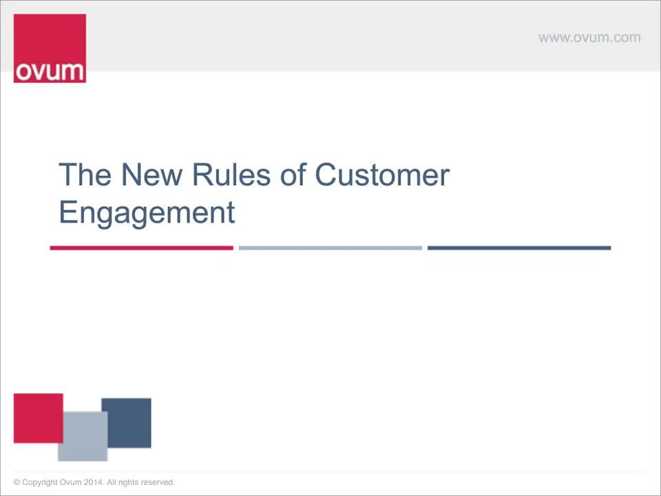 The 6 New Rules of Customer Engagement