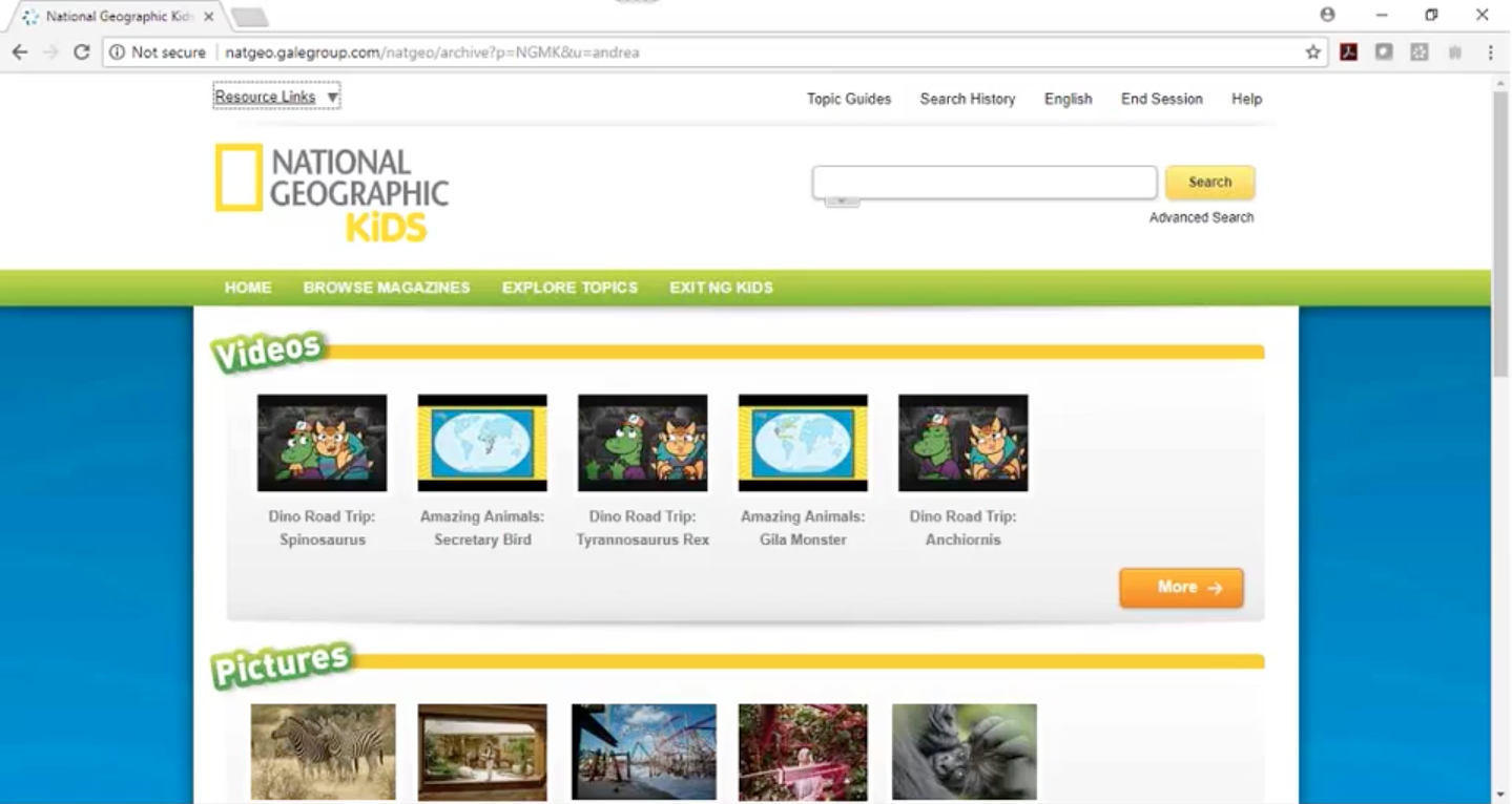 National Geographic Kids Webinar Thumbnail
